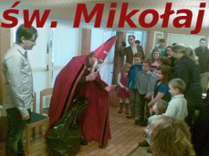 św. Mikołaj u naszych dzieci