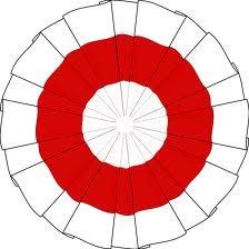 kokarda biało-czerwona